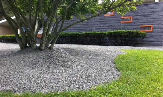 Grys granitowy w budujto for Grava de colores para jardin